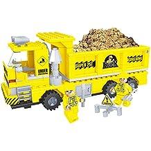 Ausini - Juego de bloques, construcción volquete de arena, 269 piezas (Colorbaby 42835)