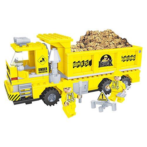 Ausini - Juego de construcción Camión volquete - 269 piezas (ColorBaby 42835)