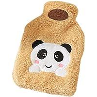 Reizende Karikatur-Entwurfs-Wärmflasche mit Deckel-Bashful Panda (21x33cm) / L preisvergleich bei billige-tabletten.eu