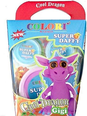 SUPER DAFFY – Cool Dragon à Modeler, modèles Couleurs Couleurs Couleurs Assortis B00NMS4648 b57748