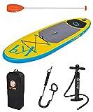 SUP Z-RAY K9 Kinder /Jugendliche Stand Up Paddle Board inkl. Pumpe + Paddel +Leash Coil + Tasche