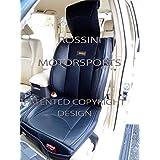 Fundas de asiento de coche patrulla de la Nissan Terrano 2/ymdx06Rossini Motorsports PVC Piel Sintética), color negro