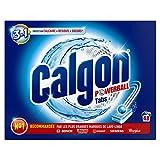 Calgon 3en1 Anticalcaire et Nettoyant pour le Lave-Linge 48 Tablettes