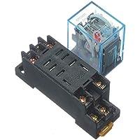 220V bobina de 10a alimentación del relé DPDT LY2NJ HH62P HHC68A-2Z con Socket Base