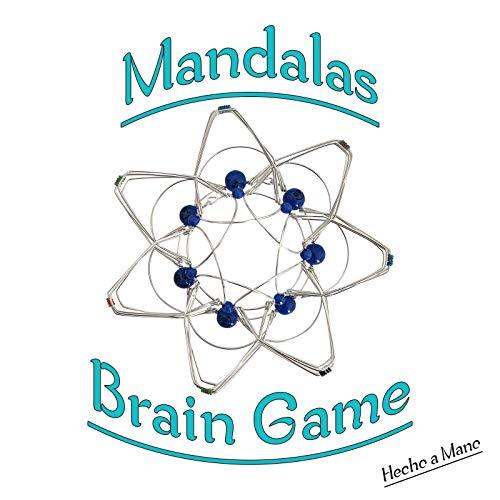 Mandalas, Juego De Concentración, Juego De Relajación, Juego Mental, Terapia Con Sensores Para El Autismo, Alivio Del Estrés, Juguete Intranquilo, Juguete Para El TDAH Para Niños Y Adultos