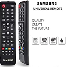 Samsung Universal Replacement Remote Control for LED/LCD / Plasma TV - Generic. No Need to Configure. Dual Sensor Technology for Best Performance. Compatible Remote Not and an Original