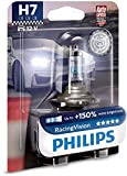 Die besten Philips H11 Birnen - Philips RacingVision +150% H7 Scheinwerferlampe 12972RVB1, Einzelblister Bewertungen