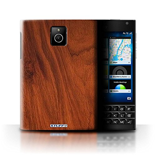 Stuff4® Hülle/Hülle für BlackBerry Passport/Mahagoni Muster/Holz/Holzmaserung Muster Kollektion