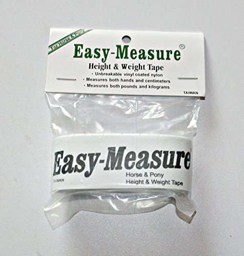 Horse & Pony Easy Measure Tape for Height and Weight - Essential for Worming-FREE UK DELIVERY Test