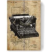 30 x 40 cm 8 Plakate Historische Schreibmaschinen NEU