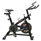 Blackpoolal S300 Hometrainer Indoor Cycle Fitnessfahrrad Heimtrainer Fitness Bike Trimmrad Cycling Fitnessbike Fahrradtrainer Ergometer Fahrrad bis 120 KG