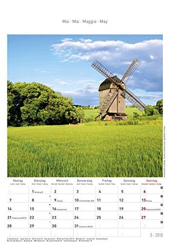 Thüringen 2018 - Bildkalender (24 x 34) - Landschaftskalender - 7