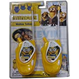 SS Battery Operated Minion Fever Style Shaped Walkie Talkie Set Toy For Kids - Silver