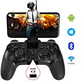 Controller Allcaca compatibile con Android, Tablet, PC Windows 7/8/10/XP e Android TV box, Sony PS3. Include un ricevitore wireless 2.4 G, basta collegare e giocare su PC Windows, Android TV, TV box e PS3.  Funzionalità: Materiale: plastica ABS. Tipo...