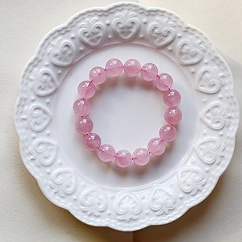 GTVERNH-l'anneau pur cristal naturel du bracelet, dr peach bracelets, les filles des bijoux de 10 mm