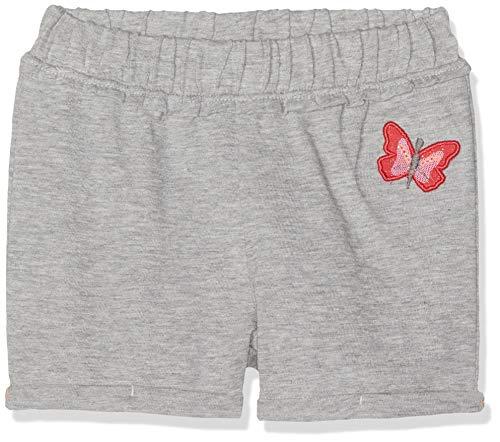 s.Oliver Baby-Mädchen 65.904.75.4961 Shorts, Grau (Grey Melange 9400), (Herstellergröße: 92)