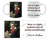 Music is a - Ludwig Van Beethoven - Mug