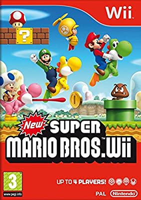 Nintendo Selects: New Super Mario Bros. Wii (Nintendo Wii) from Nintendo UK