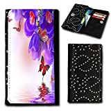 Book-Style Flip Case Photo Skin Case Cover Wallet for Wiko