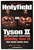 Evander Holyfield vs Mike Tyson - U.S Imported Champion Boxing Match Wall Poster Print - 43cm x 61cm / 17 inches x 24 inches A2