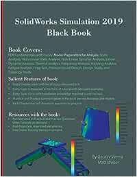 Solidworks simulation 2019 black book colored matt weber