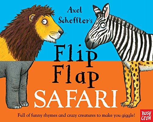 Flip Flap Safari por Nosy Crow