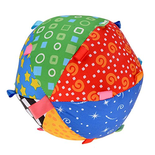 Baby Toys Development Toy Bell Ring Ball Educational Sensory Sport Ball 51I591hqwLL