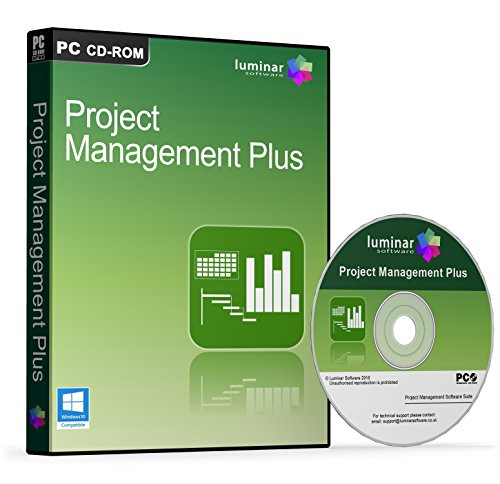 Project Management Plus - Professional Project Management Software Suite - Microsoft Project Alternative - 4 Advanced Programs (PC) - BOXED AS SHOWN Test