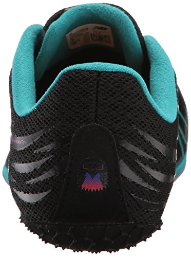 New Balance Women's WSD100V1 Track Spike Shoe, Black/Blue, 10 B US Black/Blue