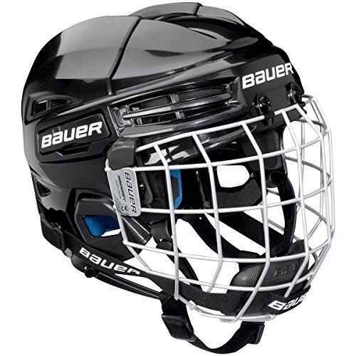 Bauer Kinder Eishockeyhelm nit Schutzgitter PRODIGY-Serie für Kids Helm Eishockey, schwarz one Size