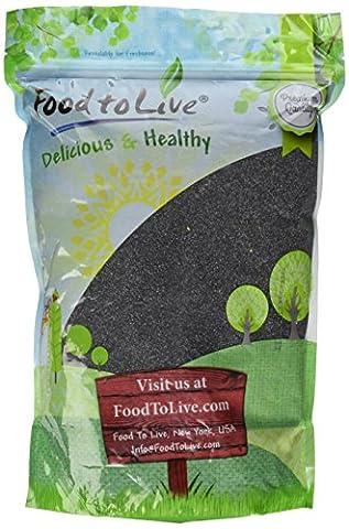Food to Live Graines De Pavot (Angleterre) (4 Livres)
