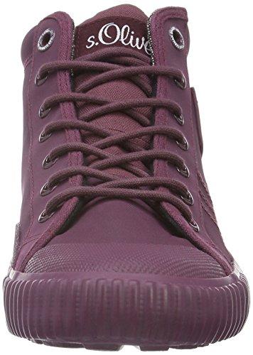 s.Oliver 15222, Sneakers Hautes Homme Rouge (Bordeaux 549)