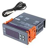 SODIAL(R) Termopar Controlador de Temperatura Digital 200-240V -40 C a 120 C con Sensor