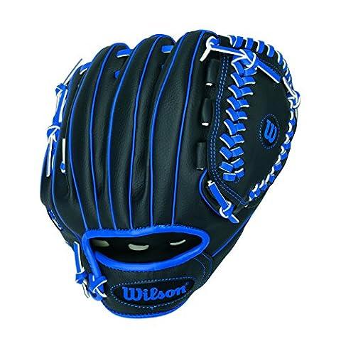 WILSON Handschuhe A200 TB, Black/Blue, 10, A200