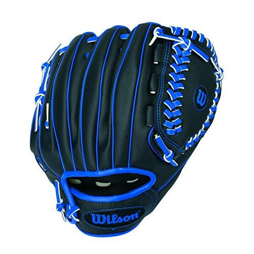 WILSON Handschuhe A200 TB, Black/Blue, 10, A200 TB
