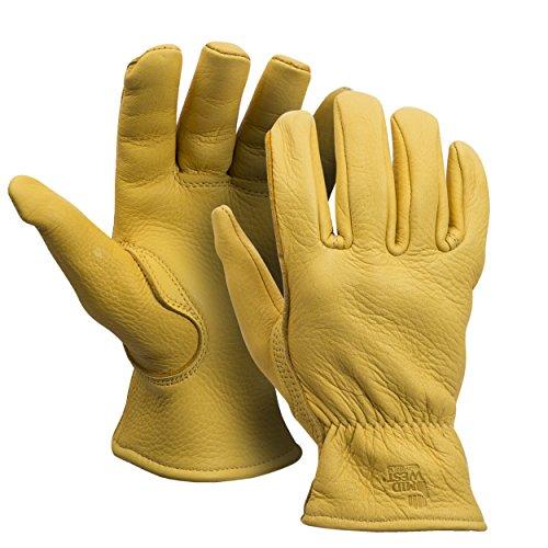 American Made Echte Wildleder Thinsulate gefütterte Arbeit Handschuh, 850-L -