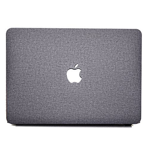 MacBook Pro 13 (Non-Retina) Hülle - AQYLQ Hochwertige Hartschale Tasche Schutzhülle Snap Case für Apple MacBook Pro 13.3' WITH CD-ROM Drive (A1278) - Graues Tuch