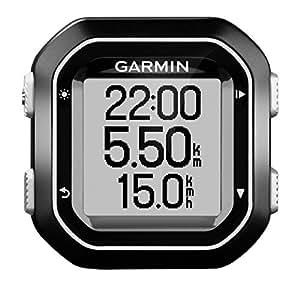 Garmin Edge 25 GPS Bike Compatto e Impermeabile, Compatibile con Sensori Ant+, Nero