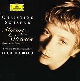 Mozart - Richard Strauss : Airs d'opéra - Lieder avec orchestre / Christine Schäfer