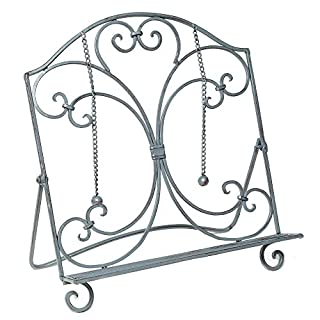 Ambiente Haus 92077Iron Cook Book Stand 33cm