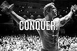 Arnold Schwarzenegger Conquer Kunst Riesen Poster - A5 A4 A3 A2 A1 A0 Größen
