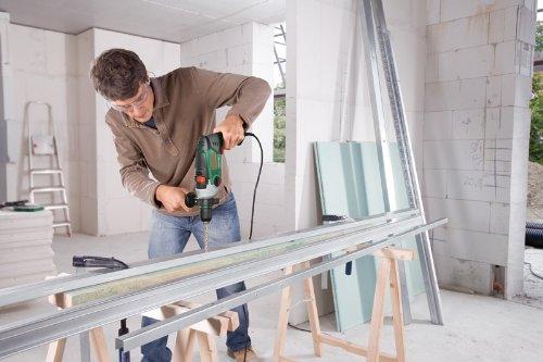 Bosch DIY Schlagbohrmaschine PSB 850-2 RE, Tiefenanschlag, Zusatzhandgriff, Koffer (850 Watt, max. Bohr-Ø 1./2.Gang: Beton: 18/13 mm, Holz: 40/25 mm) - 7