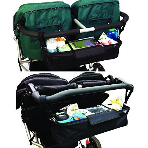 Kinderwagen-Organiser für Zwillilngskinderwagen - 3
