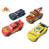 Metro Toys Metal Master Cars3 Die Cast With Pull Back Function - Set Of 4