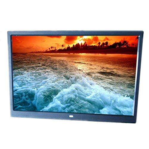 Digitaler Bilderrahmen 15-Zoll-LED-Bildschirm Hi-Res-Breitbild-Vollformat-Multifunktions mit Touch-Taste Digitale Bilderrahmen , A (Digitaler Bilderrahmen 15 Im)