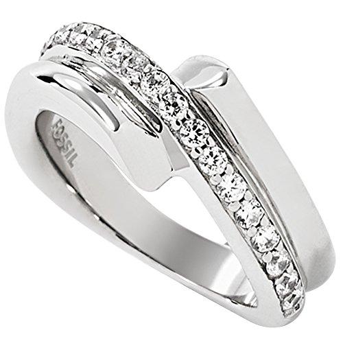 Fossil Damen-Ring Zirkonia weiß Gr. 51 (16.2) - JFS00304040-6.5