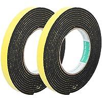 sourcingmap® 2pcs 15 mm x 3 mm de una sola cara de la cinta adhesiva