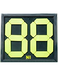 Fútbol Tarjeta de sustitución Manual Referencia instrucciones de doble cara pantalla 2-digits