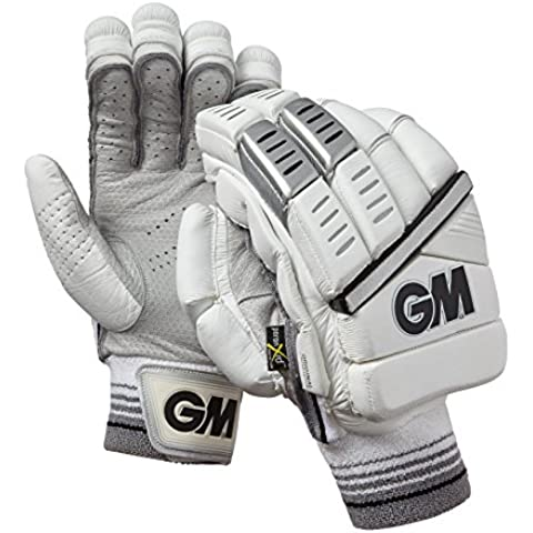 GM Men' s Original L.E mano sinistra Batting guanti, taglia unica, colore: argento - Batting Guanto Set