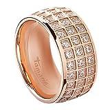 Tamaris Jewelry Alex Ring Edelstahl rosévergoldet mit Zirkonia RG 56 A0171201-5
